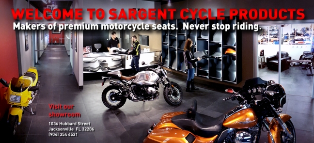 Showroom-2016-Slider of Sargent Cycle Products North America